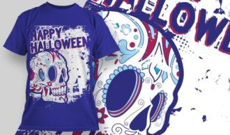 T-Shirt Design 1343 T-shirt Designs and Templates vector