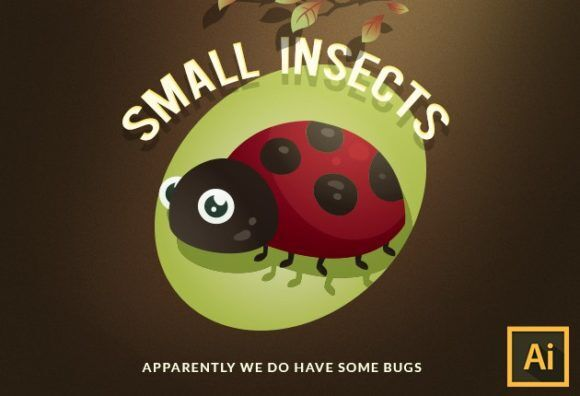 Small Insects Vector Set Vector packs vector