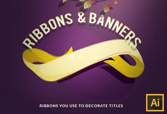Ribbons Vector Set Vector packs vector