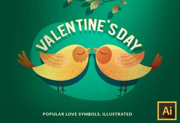 Valentines Day Vector Set Vector packs vector