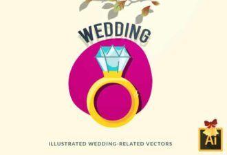 Wedding Vector Set Vector packs vector