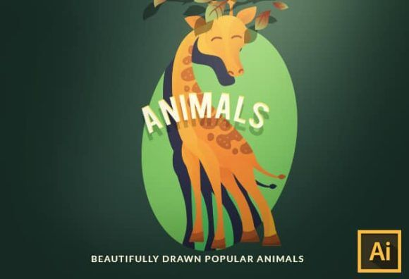 Wild Animals Vector Set Vector packs vector