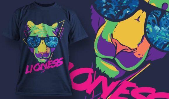 T-Shirt Design 1346 T-shirt Designs and Templates vector