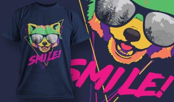 T-Shirt Design 1349 T-shirt Designs and Templates vector