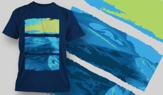 T-Shirt Design 1356 T-shirt Designs and Templates vector
