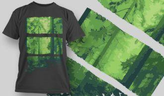 T-Shirt Design 1357 T-shirt Designs and Templates vector