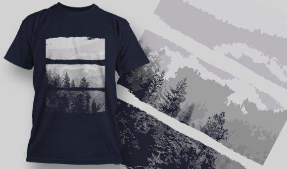 T-Shirt Design 1359 T-shirt Designs and Templates vector