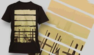 T-Shirt Design 1360 T-shirt Designs and Templates vector
