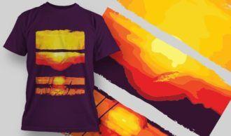 T-Shirt Design 1362 T-shirt Designs and Templates vector