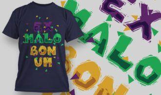 T-Shirt Design 1369 T-shirt Designs and Templates vector