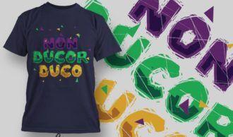 T-Shirt Design 1370 T-shirt Designs and Templates vector