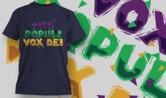 T-Shirt Design 1371 T-shirt Designs and Templates vector
