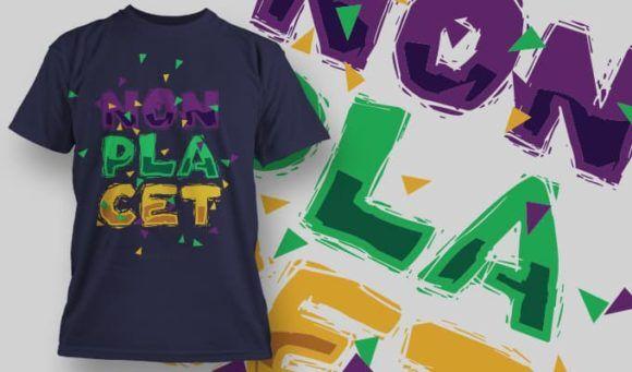 T-Shirt Design 1374 T-shirt Designs and Templates vector