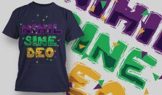 T-Shirt Design 1375 T-shirt Designs and Templates vector