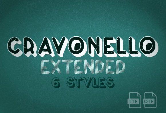 Crayonello Font Fonts font