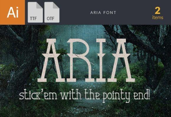 Aria Font Fonts font