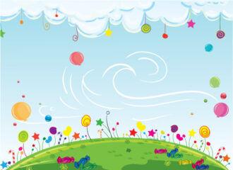 Cartoon Background Vector Illustration Vector Illustrations star