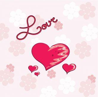Valentine's Background Vector Illustration Vector Illustrations vector