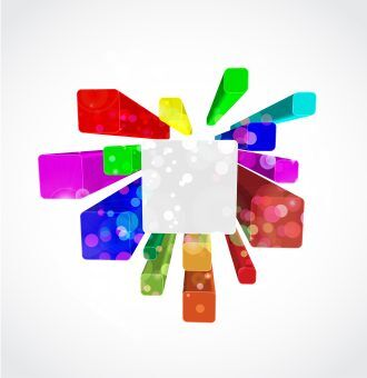 Vector Colorful Abstract Background Vector Illustrations wave