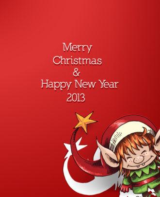 Christmas Vector Illustration With Christmas Elf Vector Illustrations vector