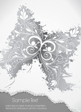 Abstract Butterfly Vector Illustration Vector Illustrations floral