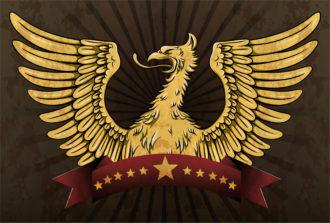 Grunge Vintage Emblem Vector Illustration Vector Illustrations old