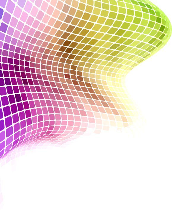 Vector Colorful Wave Background Vector Illustrations wave