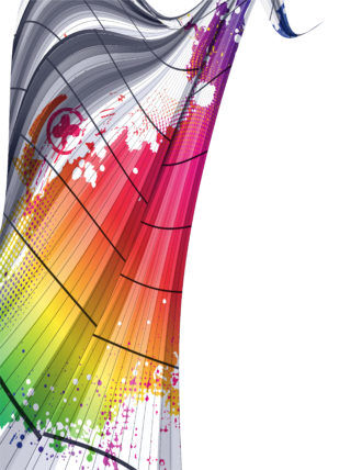 Vector Colorful Waves Background Vector Illustrations wave