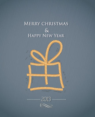 Christmas Vector Illustration With Gift Vector Illustrations vector