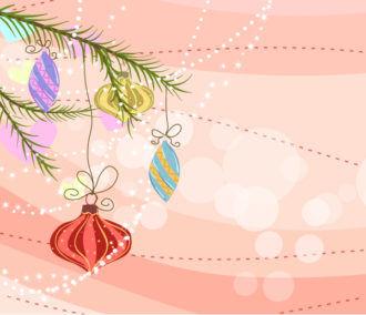 Christmas Background Vector Illustration Vector Illustrations tree