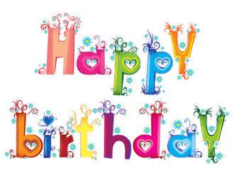 Vector Happy Birthday Illustration Vector Illustrations vector
