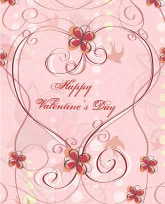 Valentine's Day Background Vector Illustration Vector Illustrations vector