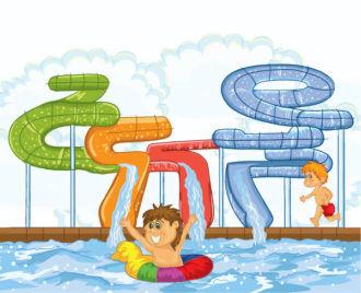 Summer Background Vector Illustration Vector Illustrations summer