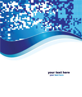 Vector Abstract Background In Blue Color Vector Illustrations vector