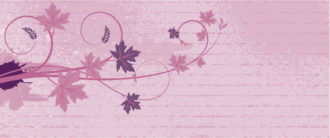 Vector Grunge Background With Floral Vector Illustrations floral