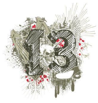 Grunge T-Shirt Design Vector Illustration Vector Illustrations old