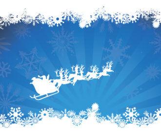 Christmas Greeting Card Vector Illustrations vector