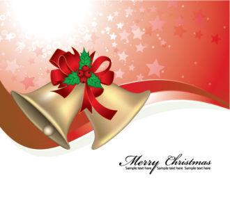 Christmas Greeting Card Vector Illustrations star