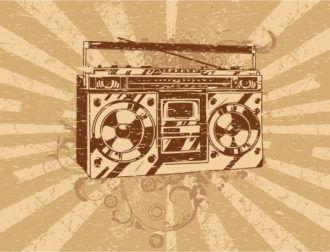Music Illustration Vector Illustrations old