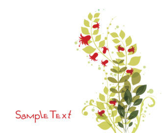 Abstract Floral Background Vector Illustration Vector Illustrations floral