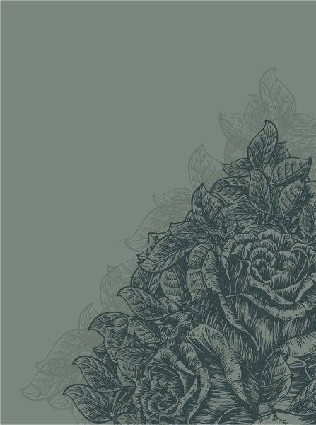 Vector Vintage Floral Background With Roses Vector Illustrations old