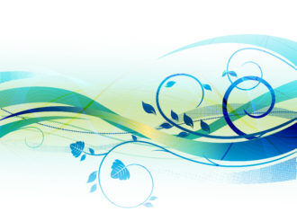 Blue Abstract Background Vector Illustration Vector Illustrations floral