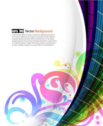 Abstract Background Vector Illustration Vector Illustrations wave
