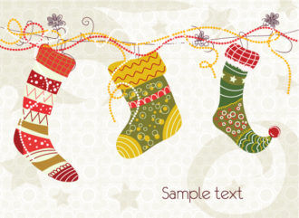 Colorful Socks Vector Illustration Vector Illustrations vector