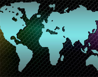 Vector Business Background With World Map Vector Illustrations vector
