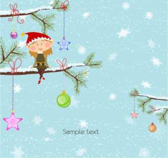 Vector Christmas Background Vector Illustrations vector
