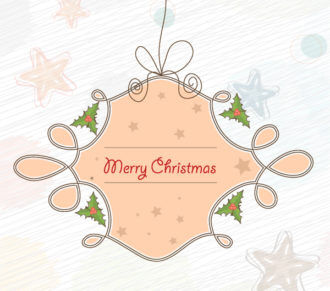 Vector Christmas Background Vector Illustrations star