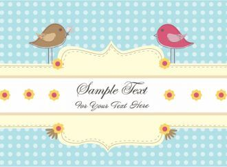 Love Birds Vector Illustration Vector Illustrations vector