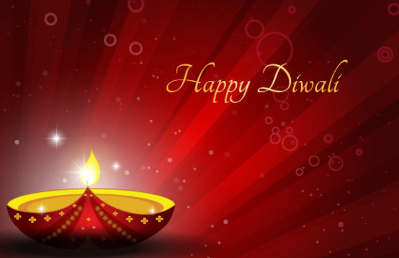 Diwali Card Vector Illustration Vector Illustrations star