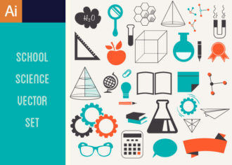 Science Vector Set 2 Vector packs banner
